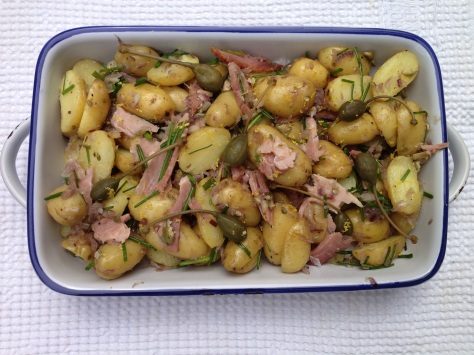 My Potato And Ham Salad