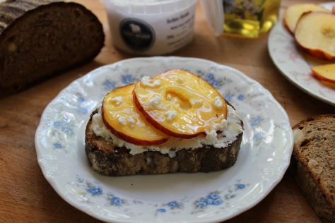 You Can Use Any Soft Fruit On This Ricotta Toast
