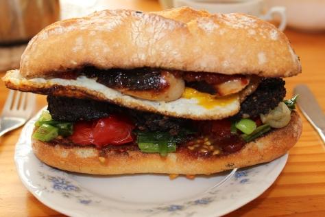 Glorious Fried Breakfast Roll