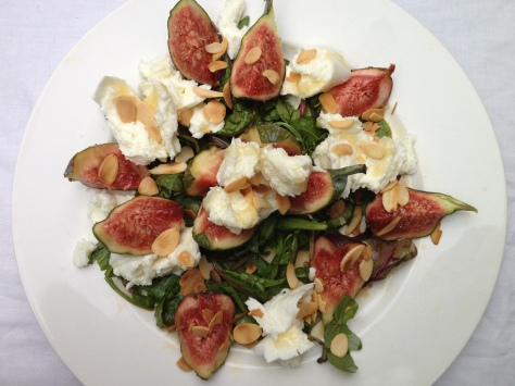 Fig and Mozzarella Salad