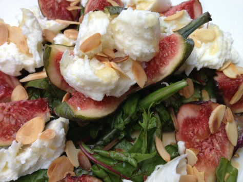 Quick, Simple and Delicious Fig and Mozzarella Salad