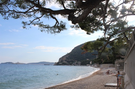 Finishing Off The Day With A Swim At Eze Beach