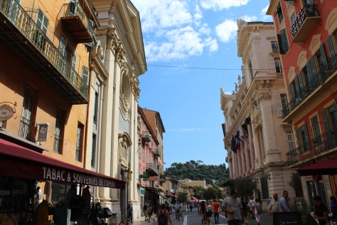 The Streets of Nice are Lined With Beautiful Old Buildings
