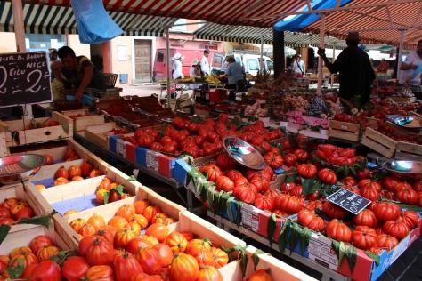 Countless Varieties Of Juicy Bright Tomatoes