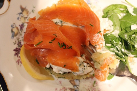 Delicious Smoked Salmon and Potato Cakes