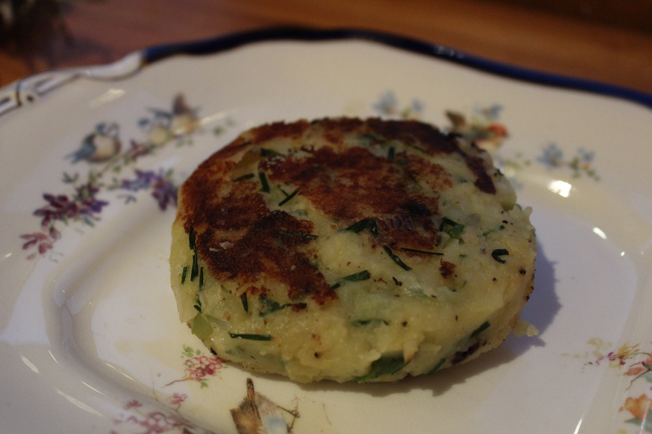... Onion and Chive Potato Cakes with Smoked Salmon | the rebel kitchen
