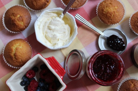 Start Filling Your Cupcakes With Jam and Cream
