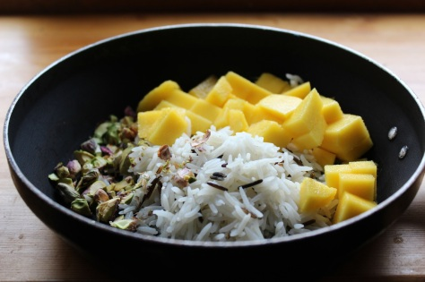 Delicious Mango Fried Rice