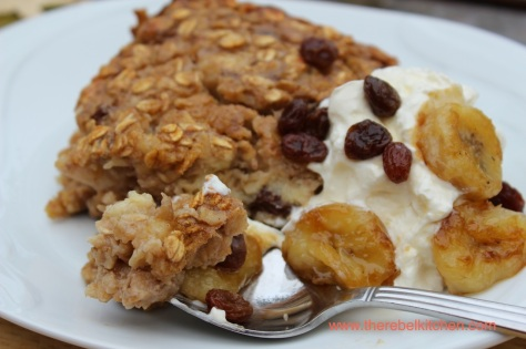 Dig In To This Incredible Banana Baked Oatmeal
