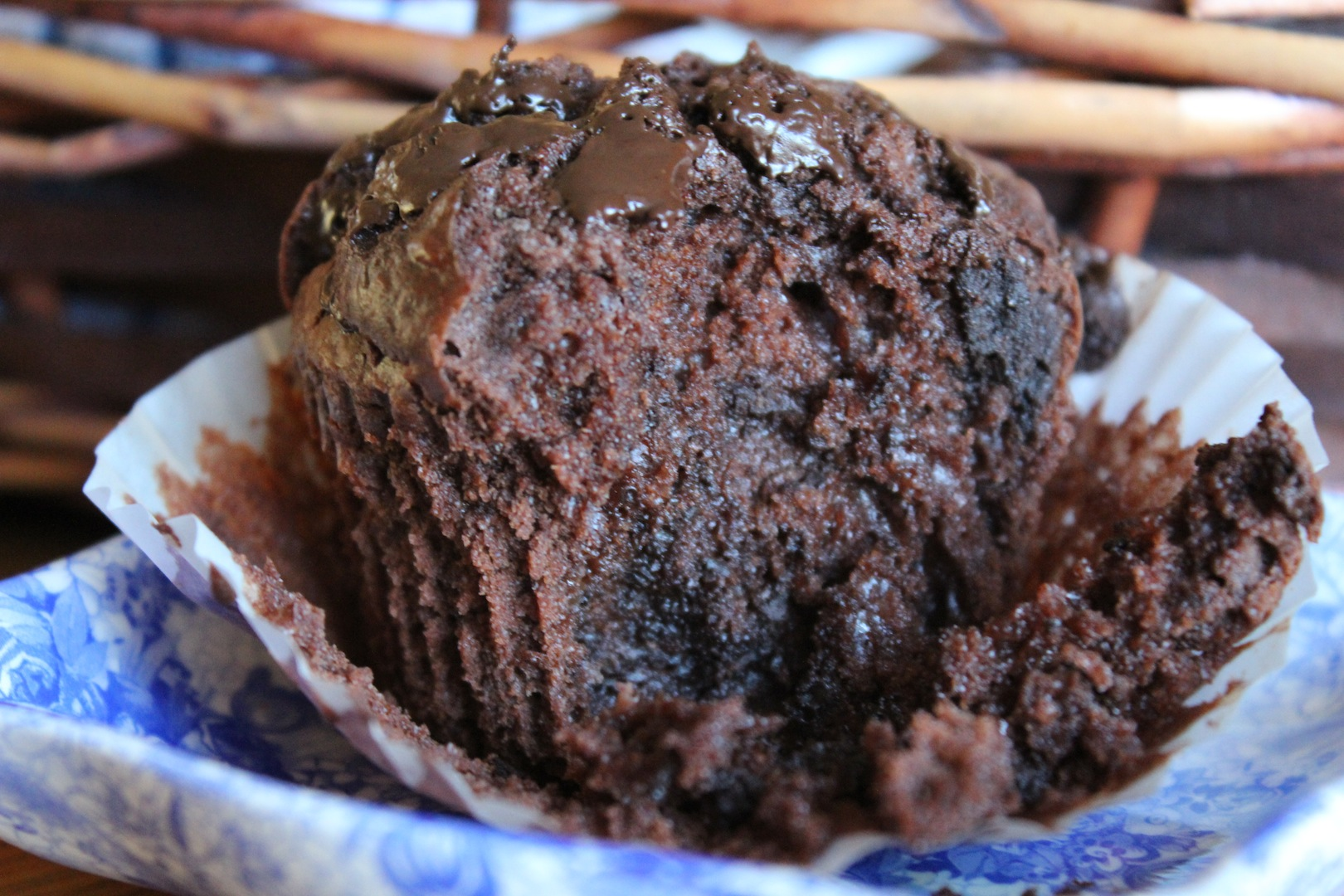 Double Chocolate Chip Muffins | the rebel kitchen..