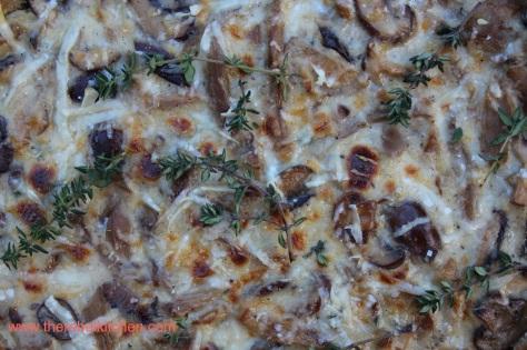 Easy and Delicious Mushroom Tart