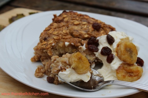 Healthy and Delicious Baked Oatmeal
