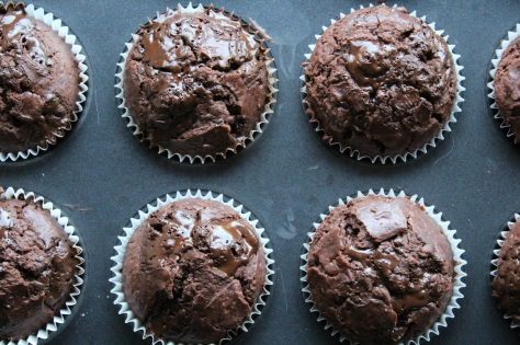 Let Chocolate Chip Muffins Cool