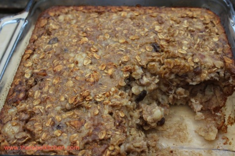 Slice Into This Delicious Gooey Banana Baked Oatmeal