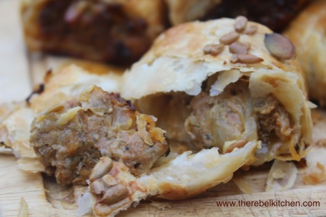 Delicious Homemade Sausage Rolls