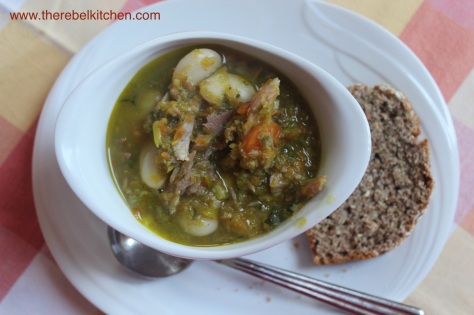 Ham and Butter Bean Soup