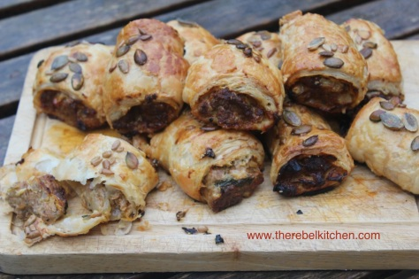 My Homemade Sausage Rolls - The Finished Product