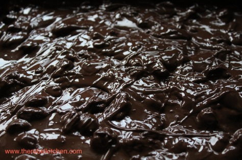 Pour Over The Chocolate And Let It Set in Fridge