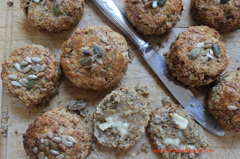 Brown Oatmeal Scones