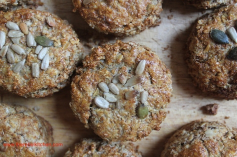 Delicious Brown Oatmeal Scones