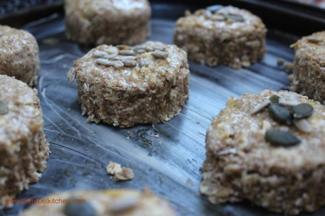 Pop Scones Onto A Greased Baking Tray