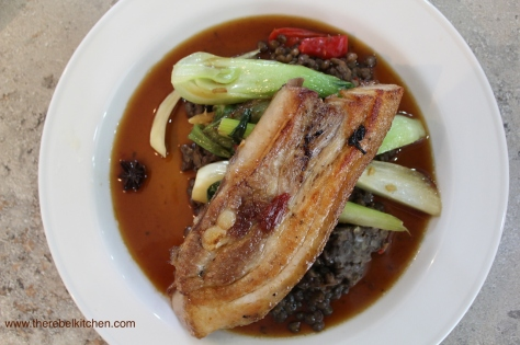 Asian Style Slow Cooked Pork Belly