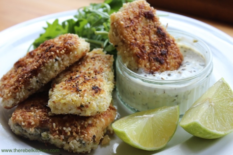 Delicious Homemade Fish Fingers