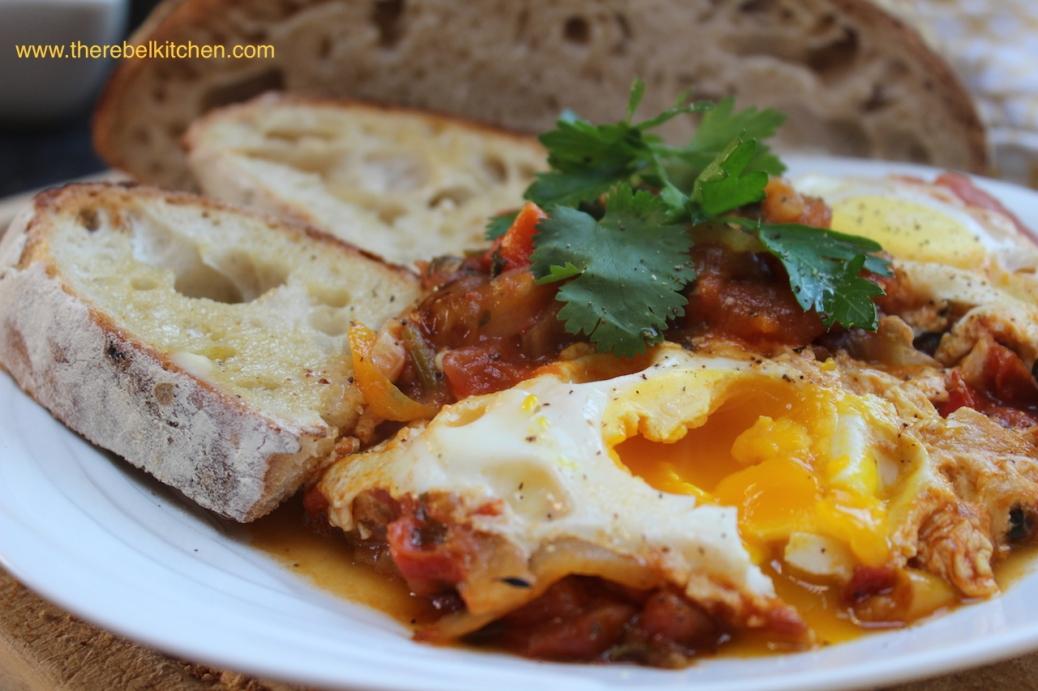 Delicious Shakshuka Eggs