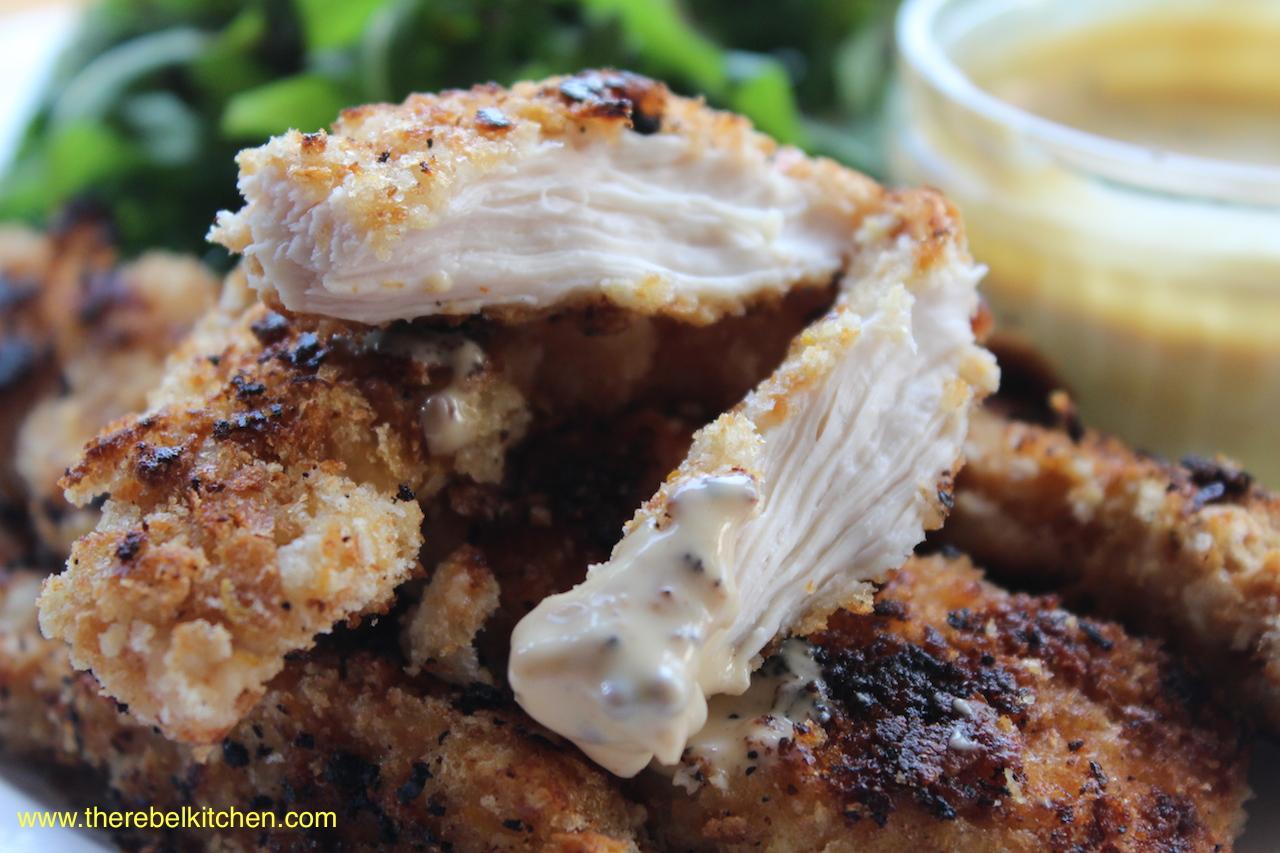 ... Chicken Dippers Finger Lickin' Chicken Honey Mustard Chicken Goujons