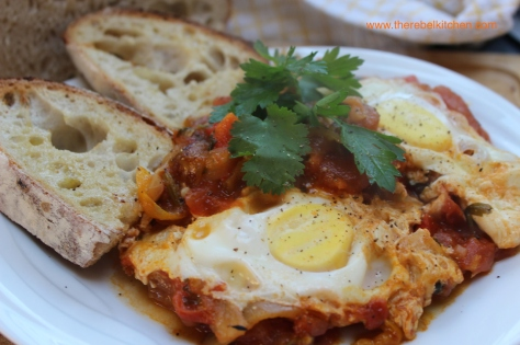 Shakshuka Eggs - Ready To Be Ravaged
