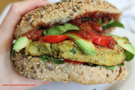 Delicious Chickpea Burgers