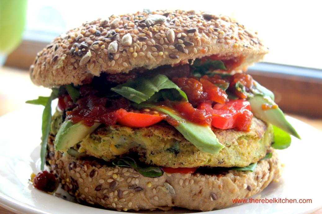 Vegan'd to F**k Chickpea Burgers