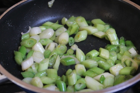 Fry The Scallions Until Almost Soft