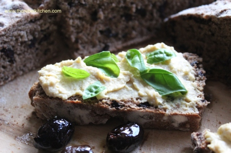 Beautiful Fresh Salty Olive Bread... Mmmmm!
