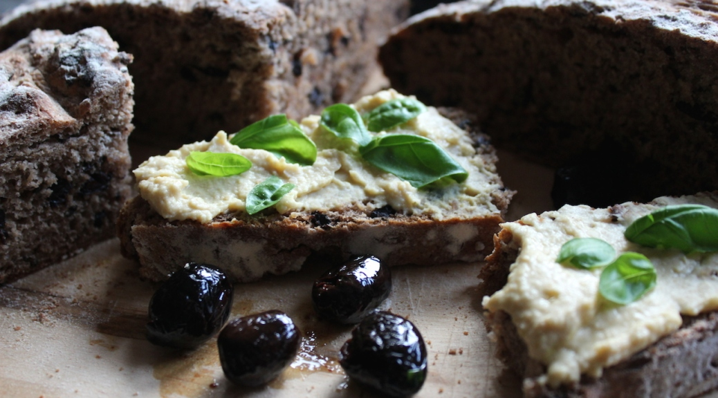 Delicious Soft Salty Olive Bread With Crispy Crust