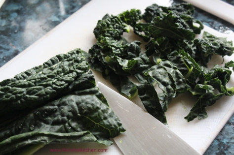 Slice The Kale Finely Into Ribbons... Hardly Rocket Science