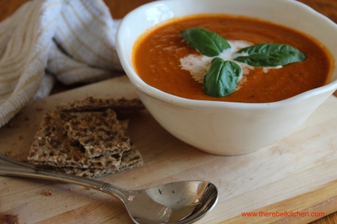 Delicious Mouth Watering Tomato Soup
