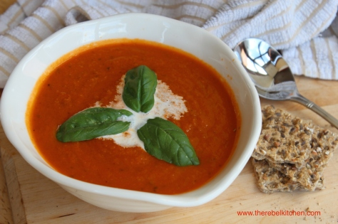 Literally The Nicest Tomato Soup You Will Ever Try