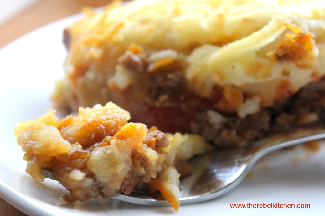 Baked Bean Shepards Pie