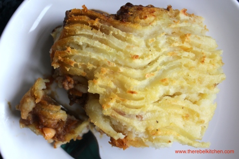 Mum's Best Baked Bean Shepards Pie