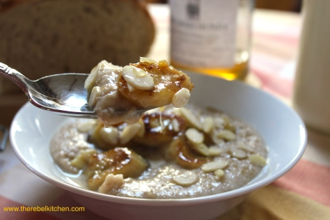 Delicious Banana Bread Breakfast Porridge