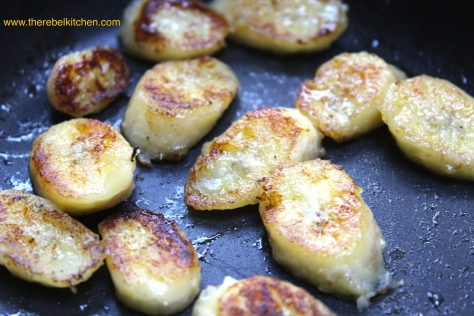 Fry Until They Are Golden On The Outside And Gooey On The Inside