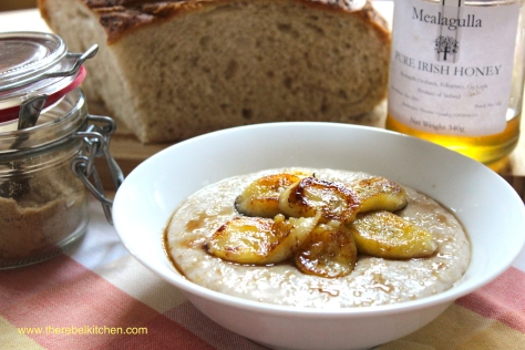 The Ultimate Banana Bread Porridge