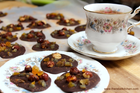 The Perfect Tea Time Treat - Spiced Orange And Roast Hazelnut Chocolates