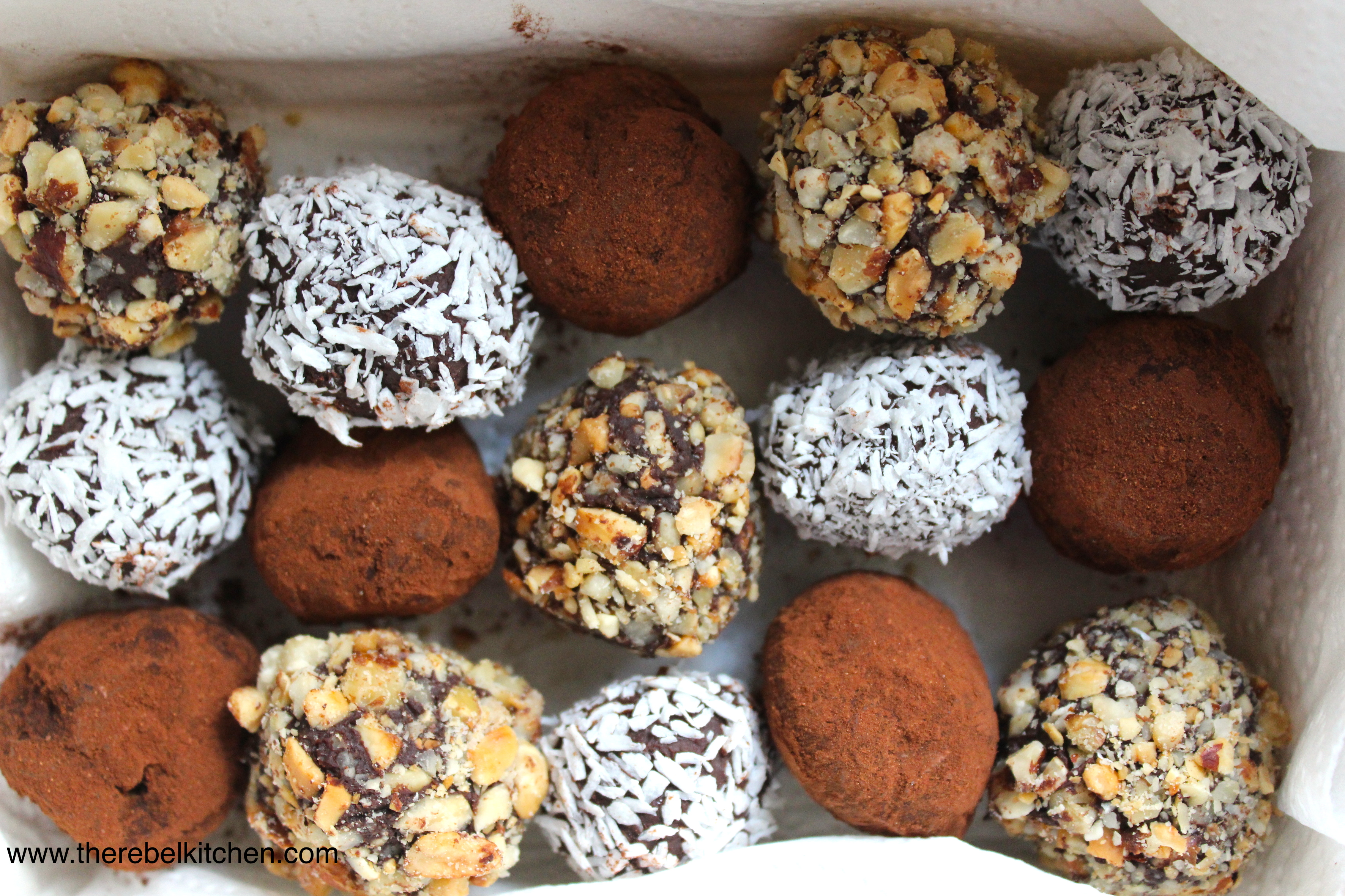 Homemade Chocolate Truffles homemade truffles the rebel kitchen