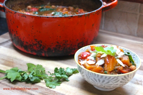 Top Class Vegetarian Squash and Chickpea Curry