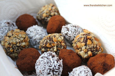 Your Own Homemade Box of Chocolate And Whiskey Truffles