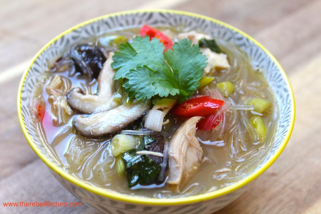 A Damn Fine Chicken Noodle Soup