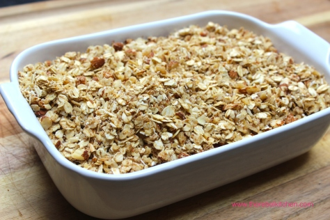 Top With Oat And Nut Crumble And Whack Into The Oven