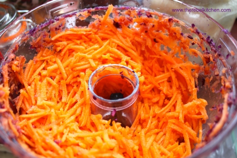 Grate The Carrot... Also Easy